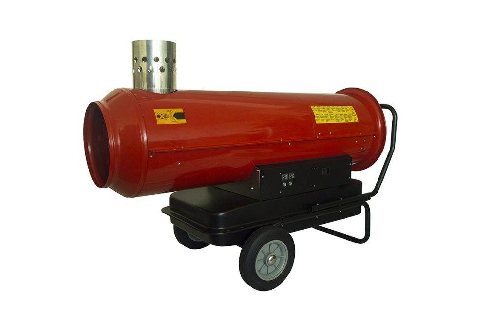 Indirect combustion hot air generators
